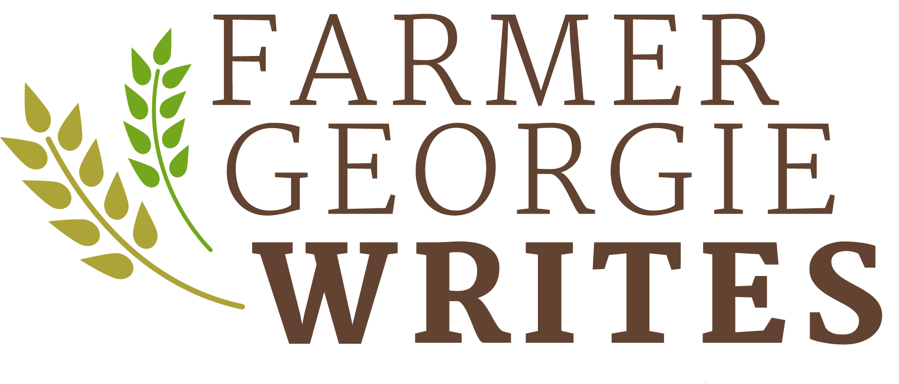 Farmer Georgie Writes